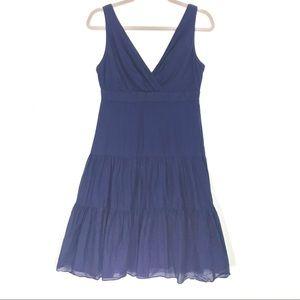 Ralph Lauren blue midi dress size 4